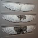 20 x 20 Wing Study White to Grey 2