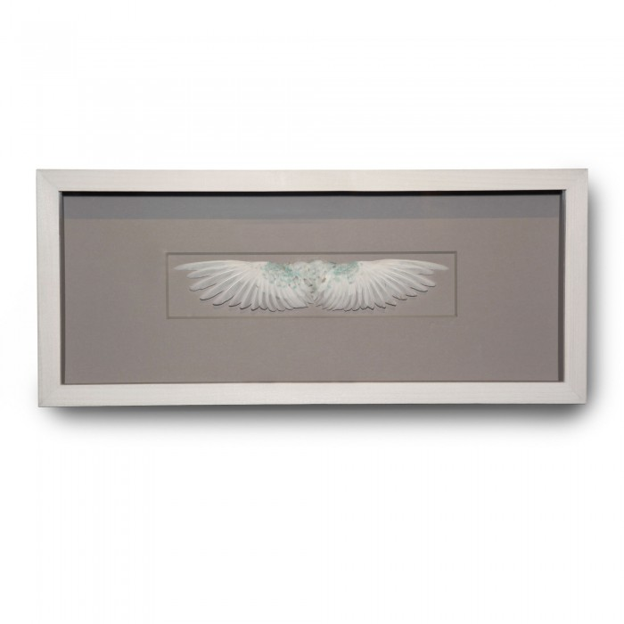20 x 8 Wings – White 1