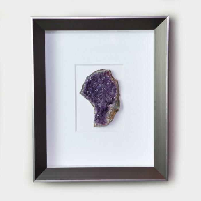 8 x 10 Amethyst – purple coloration  1