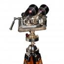 Russian TZK 10×80 Binoculars on Wood & Steel Tripod 3