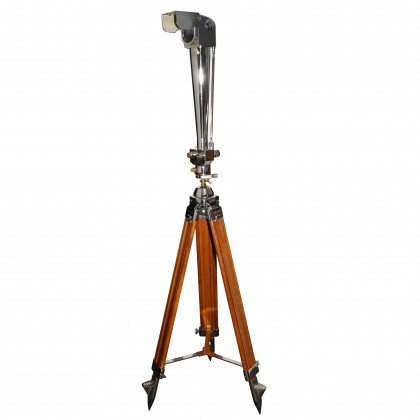 20/40x80 Zeiss Periscope Binocular on Wood Tripod
