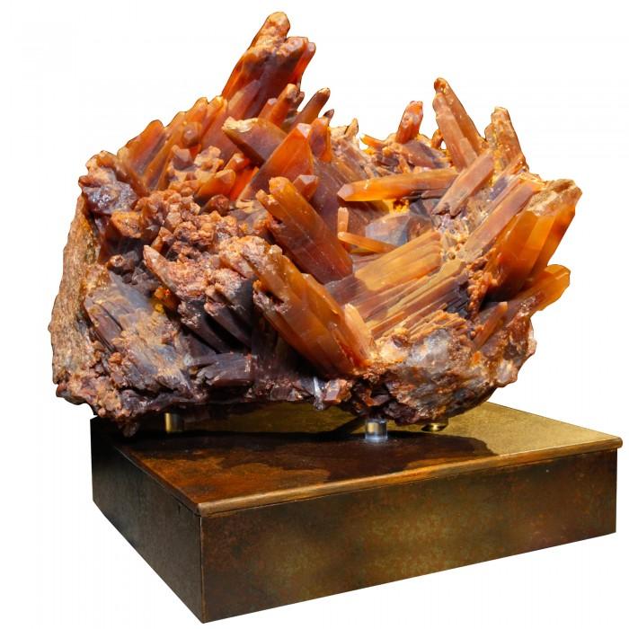 NAT_Red-Quartz-Crystal-Cluster