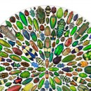 24 x 30 Limited Edition Mosaic with Insects 2