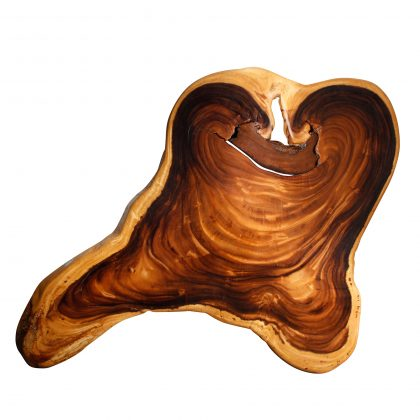 Saman Natural Wood Art - CRUZ2