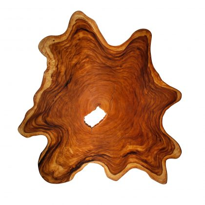 Yellow Cedar Natural Wood Art - ET1