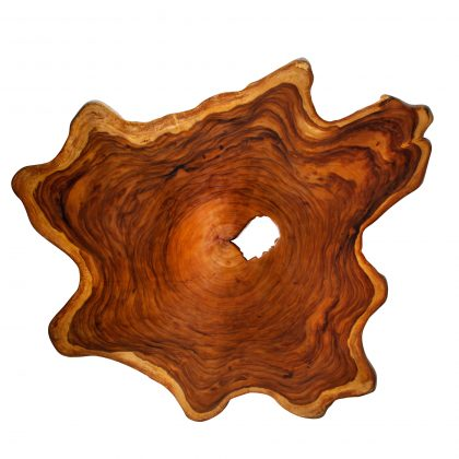 Yellow Cedar Natural Wood Art - ET2