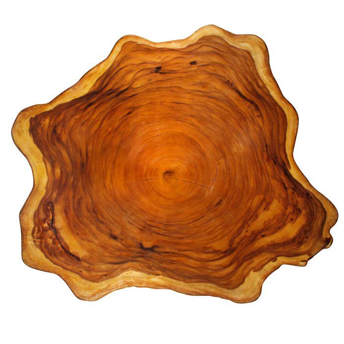 Yellow Cedar Natural Wood Art – ET3 1