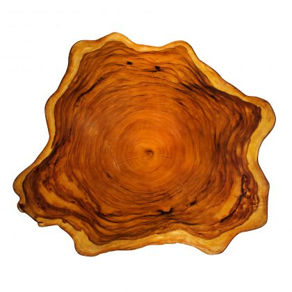 Yellow Cedar Natural Wood Art - ET3