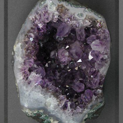 11 x 14 Mineral Apophyllite Purple