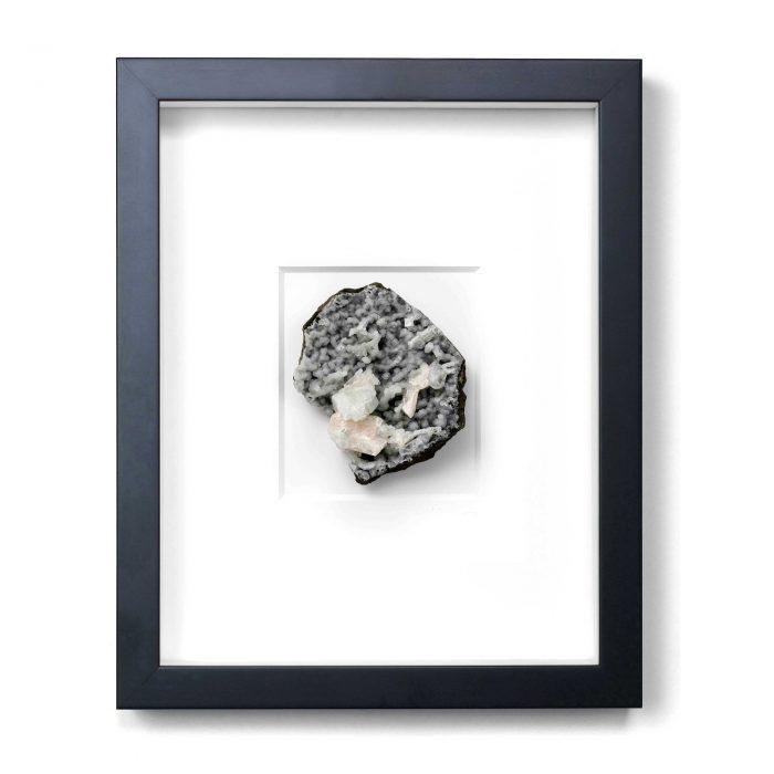 11 x 14 Mineral Stilbite on Chalcedony 1