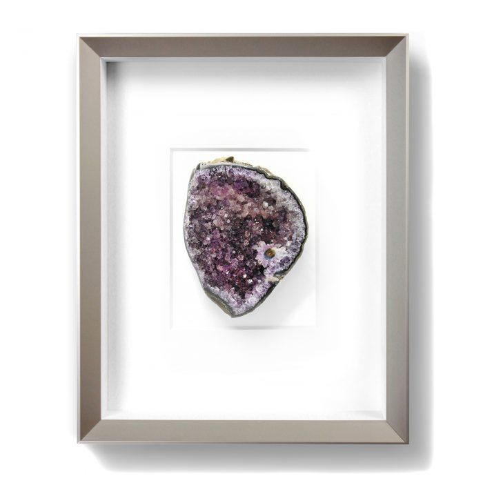 8 x 10 Mineral Apophyllite Purple 1
