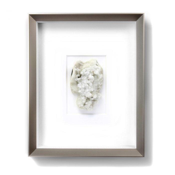 8 x 10 Mineral Apophyllite and Stilbite on Chalcedony (Versicolored) 1