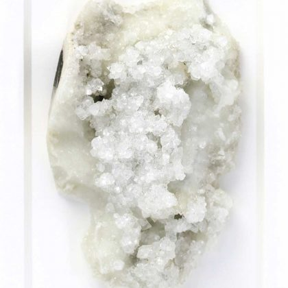 8 x 10 Mineral Apophyllite and Stilbite on Chalcedony (Versicolored)