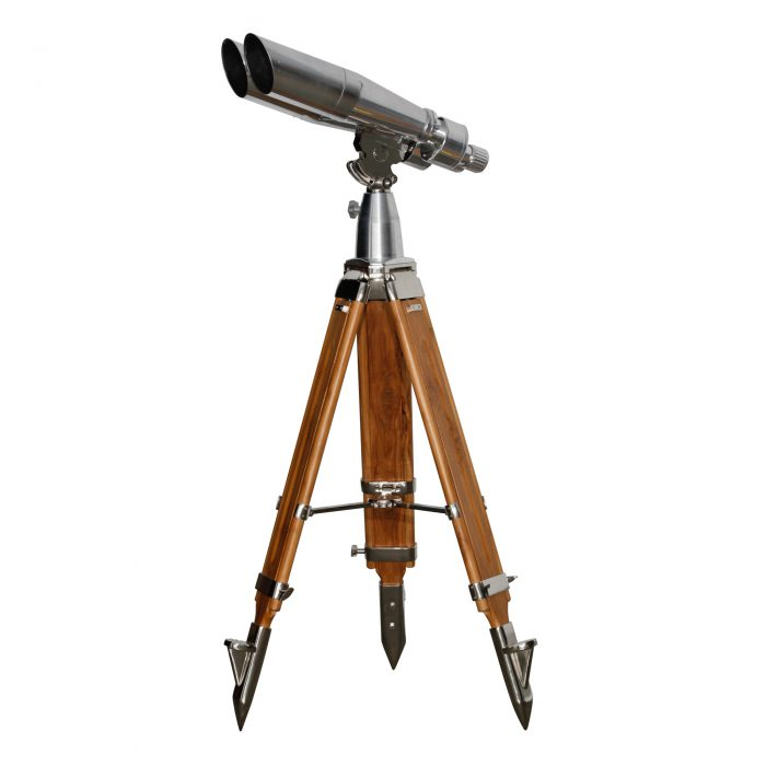 15×80 PMC USA Contemporary Binoculars on Steel and Wooden Tripods 1