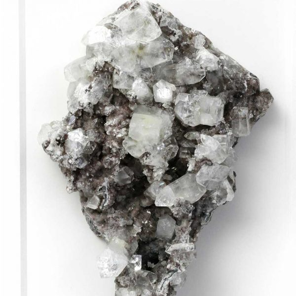 11 x 14 Mineral Apophyllite Stilbite on Chalcedony