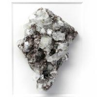 11 x 14 Mineral Apophyllite Stilbite on Chalcedony 2