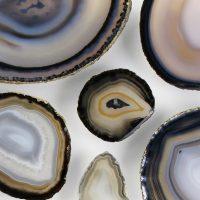 32 x 20 Agate Slice Mosaic – Cool Earthtones 2