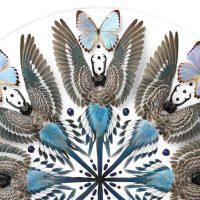 32 x 32 Parakeet Mandala No