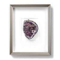 8 x 10 Mineral Apophyllite Purple