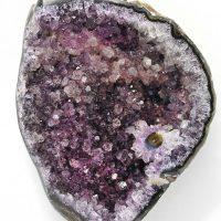 8 x 10 Mineral Apophyllite Purple 2