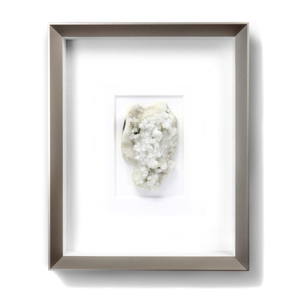 8 x 10 Mineral Apophyllite and Stilbite on Chalcedony (Versicolored)