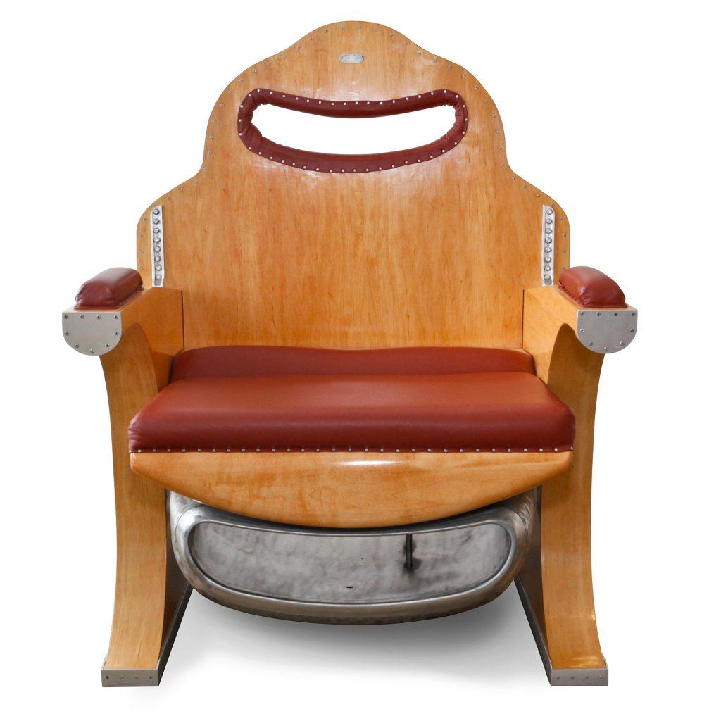 Lo Squalo Leather Club Chair