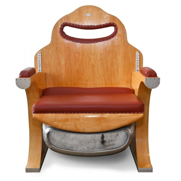 Lo Squalo Leather Club Chair