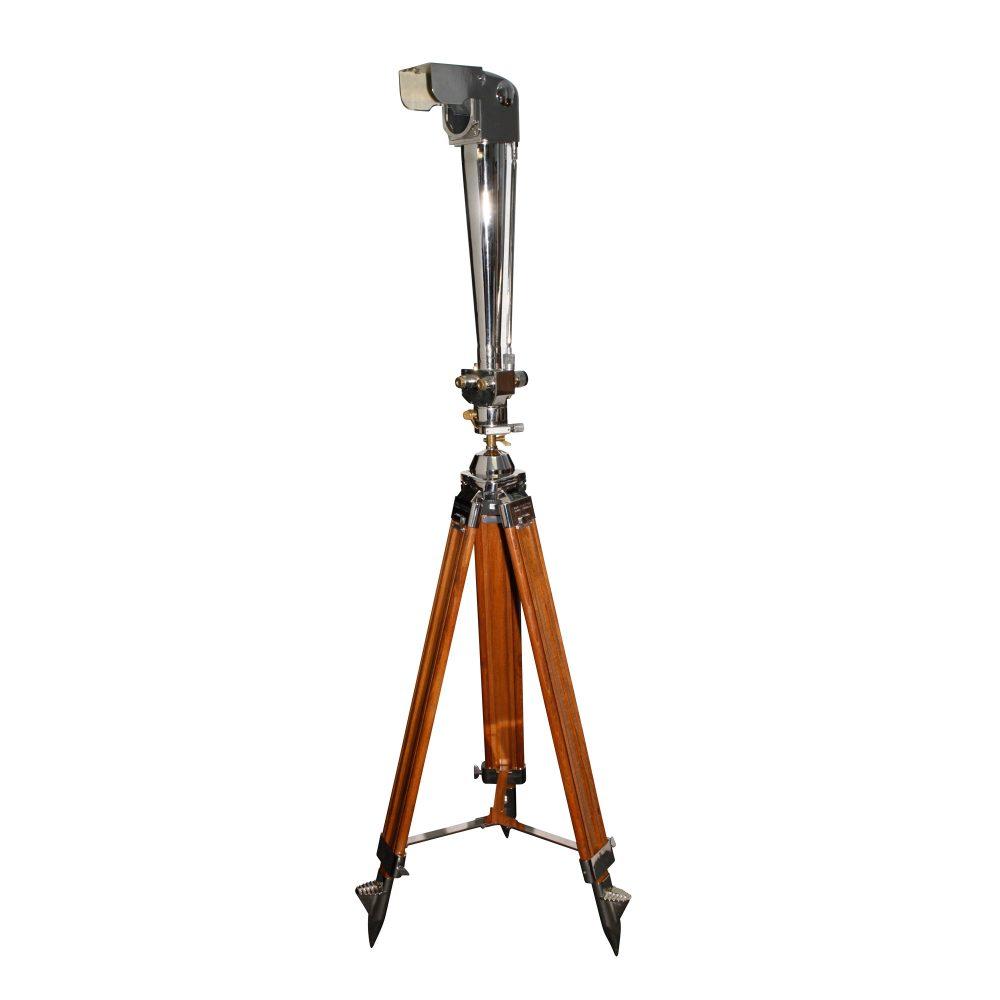 20/40x80 Zeiss Periscope Binocular on Wood Tripod