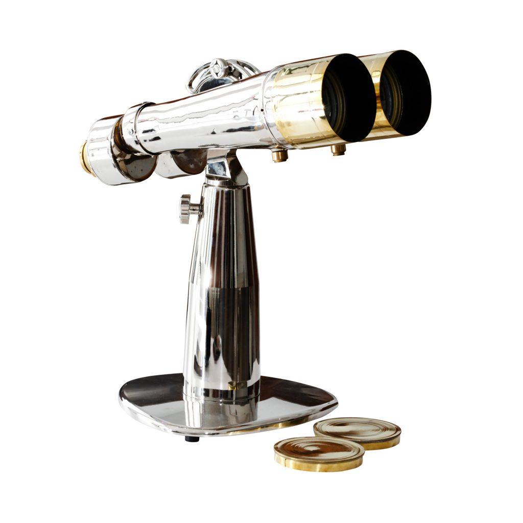 Japanese Nikkon 15x80 Binoculars - Table Mount