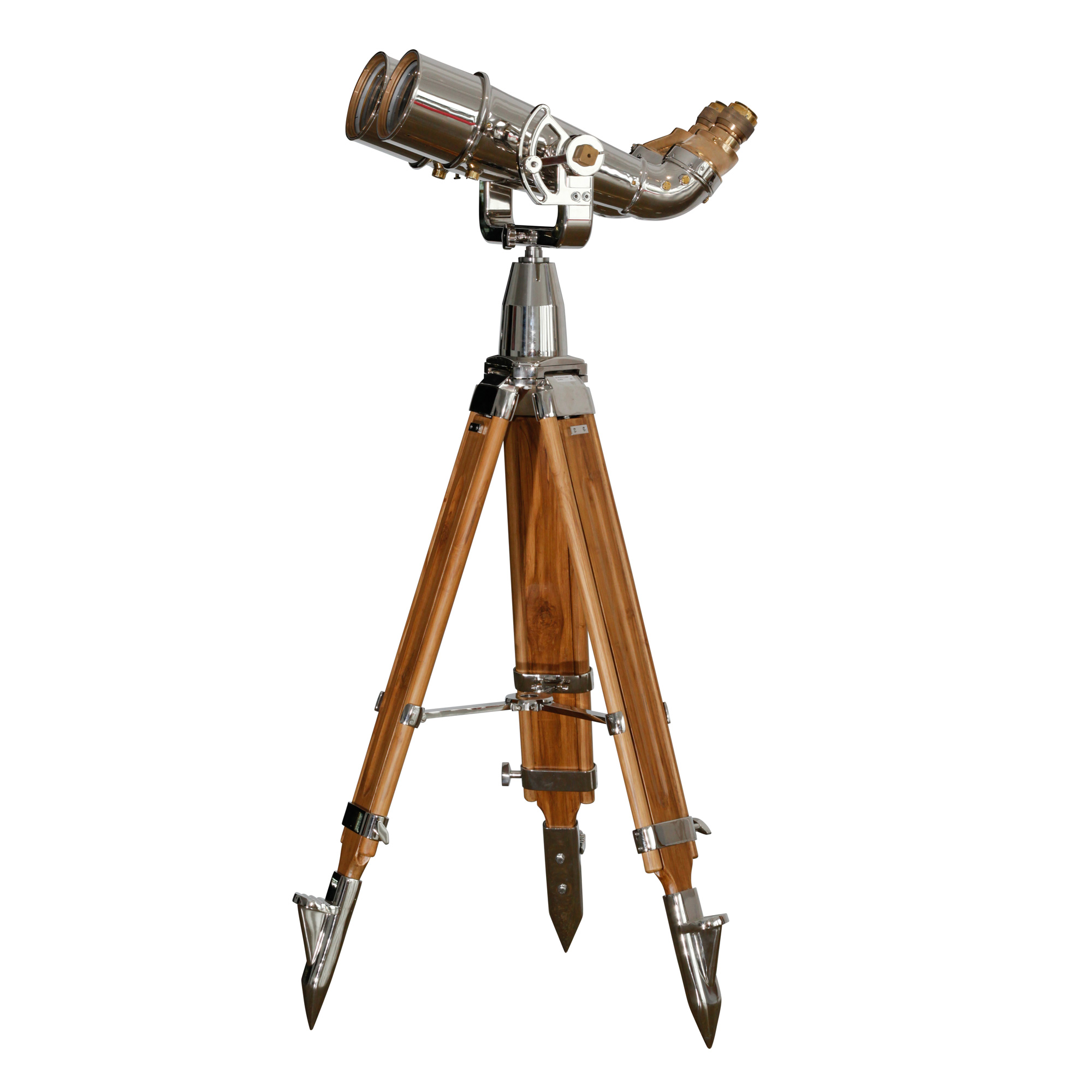 20x120 (70 Degree) Japanese Binoculars on Wood Tripod