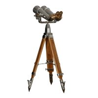 20×120 (70 Degree) Japanese Binoculars on Wood Tripod 2