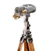 7×50 Bausch & Lomb US Naval Submarine Binocular on Tripod 2