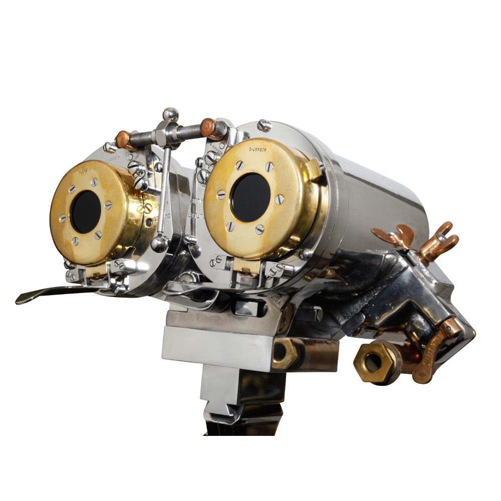 7x50 Bausch & Lomb US Naval Submarine Binocular on Tripod