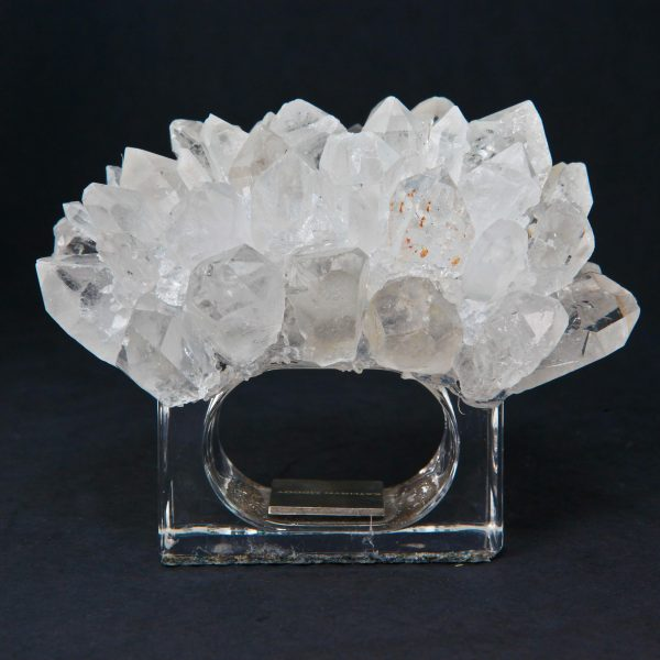 Kathryn McCoy Napkin Ring Clear Quartz