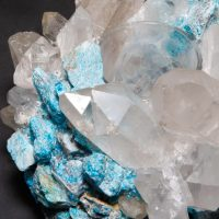 Kathryn McCoy Votive Turquoise and Clear Apatite and Quartz 2