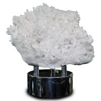 White Calcite Tree Crystal