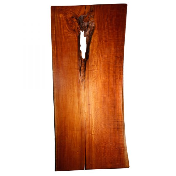 Live Edge Wood Slab - Red Cedar Saman TM2