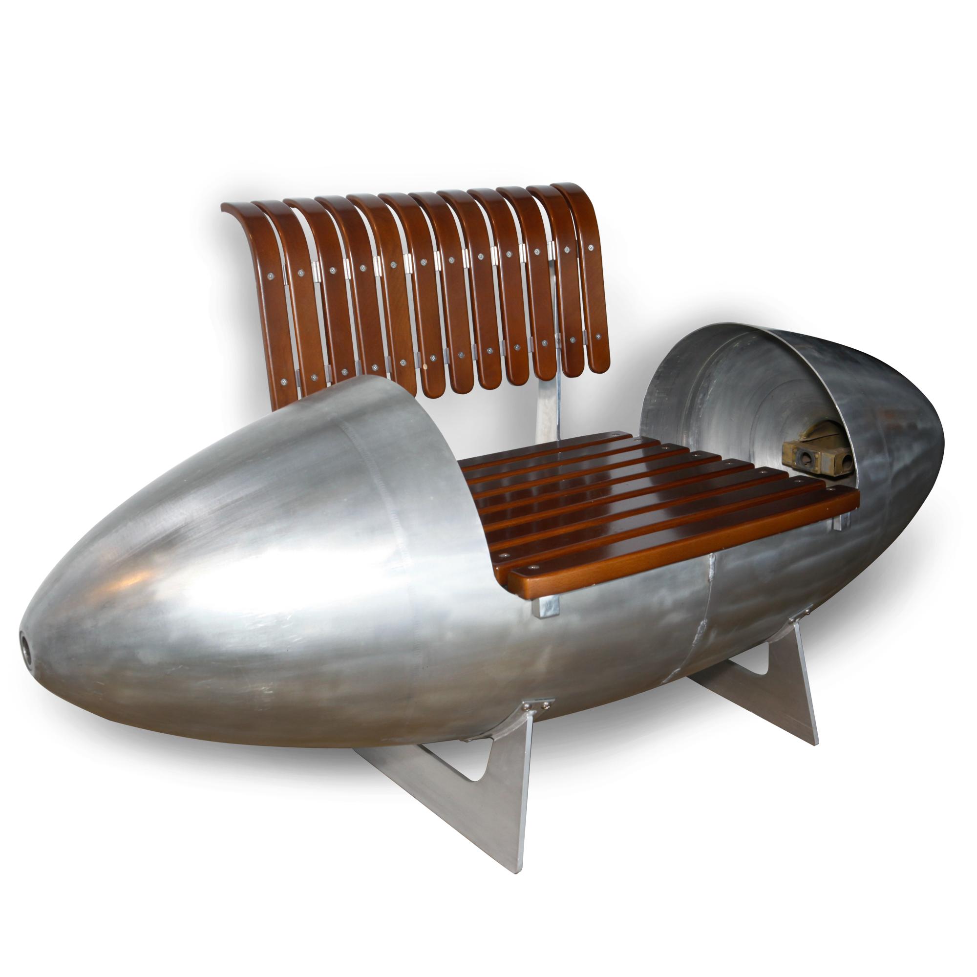 Aviation Design T 33 Jet Fighter Tip Tanks Easy Chair